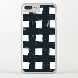 Criss-Cross Clear iPhone Case