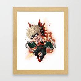 BNHA - Katsuki Bakugou chibi  Framed Art Print