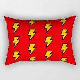 Cartoon Lightning Bolt pattern Rectangular Pillow