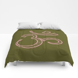 Om Syllable Comforters