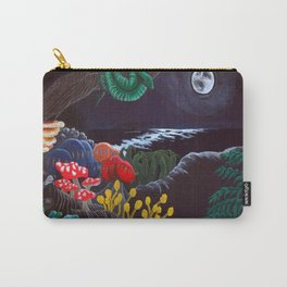 Spirit Animals at Night Carry-All Pouch