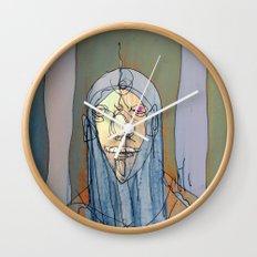 Daniel Rocket Moon Wall Clock