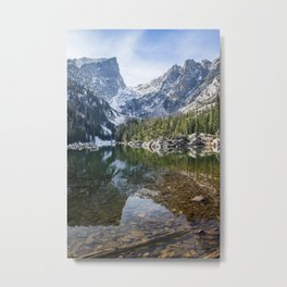 Emerald Lake Reflections Metal Print