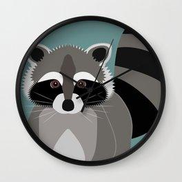 Raccoon Rascal Wall Clock
