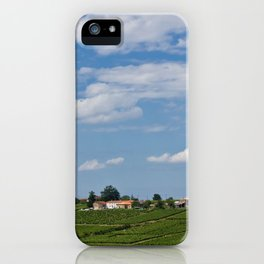 landscape in southern france iPhone Case