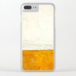 Goldness Clear iPhone Case