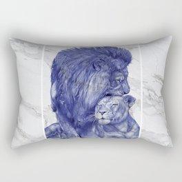The good life Rectangular Pillow