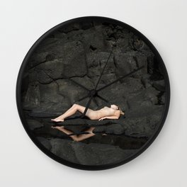 Tectonic Plates Wall Clock