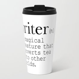 Writer Definition Converts Tea Travel Mug