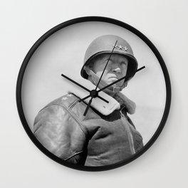 General George Patton Wall Clock