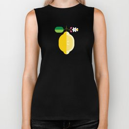 Fruit: Lemon Biker Tank