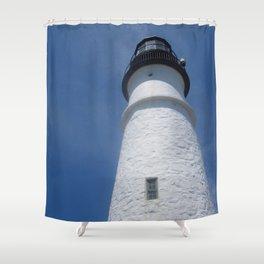 Light Tower Shower Curtain