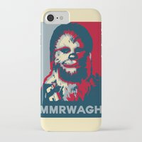 chewbacca iPhone & iPod Cases featuring Chewbacca  by Ilustrachii