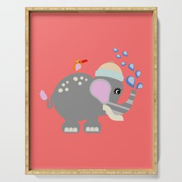 Baby Elphant Serving Tray