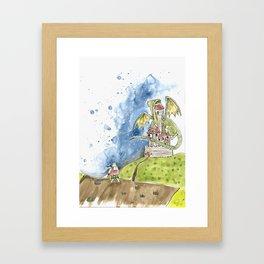 Aphsylon the bunny Framed Art Print