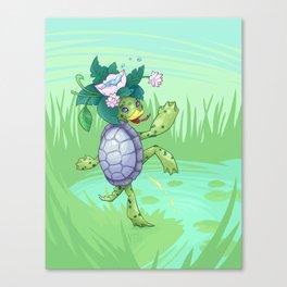 Mischievous Kappa Canvas Print