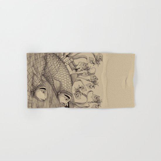 The Golden Fish (1) Hand & Bath Towel