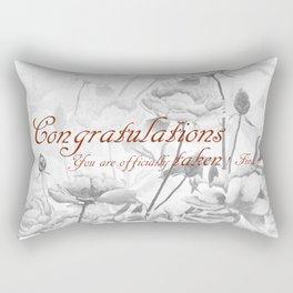 Engagement present marriage present Rectangular Pillow