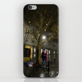 The Last Gift of Christmas iPhone Skin