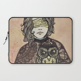The Seer and the Owl Laptop Sleeve