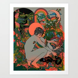 Spiritualized Art Print