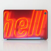 hell iPad Cases featuring Hell by Nearlycanadian
