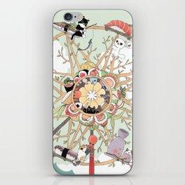 The Sushi Wheel iPhone Skin