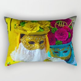 Carnevale of Venice Italy - Masquerade Mask Rectangular Pillow