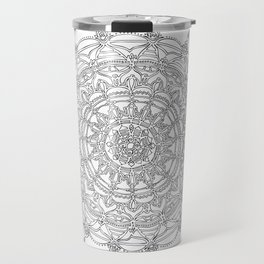 Enjoying on White Background Travel Mug