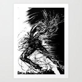 The Explosion Art Print