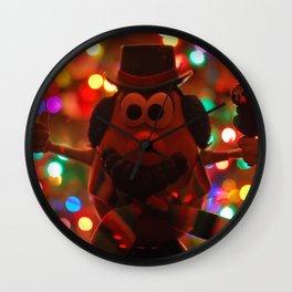 Mr. Snotatohead Wall Clock