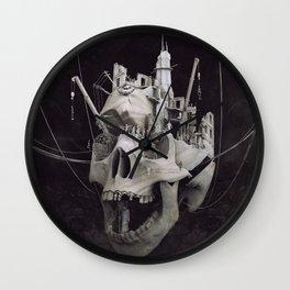the end tealanb Wall Clock
