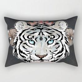 Tiger's lotus Rectangular Pillow