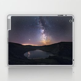 (RR 294) Milky Way above Lough Tay - Ire Laptop & iPad Skin
