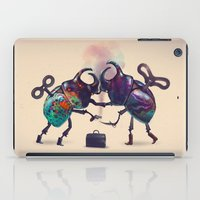 fight iPad Cases featuring Fight by Tanya_tk