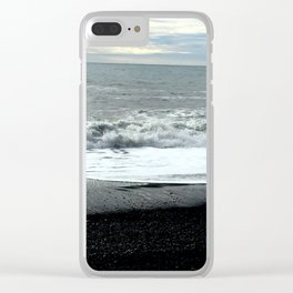 Icelandic waves Clear iPhone Case
