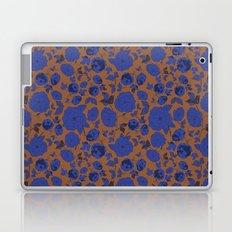 Bright Purple Florals Pattern Laptop & iPad Skin