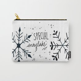 Special Snowflake  Carry-All Pouch