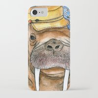 kevin russ iPhone & iPod Cases featuring Russ by Amy Nickerson