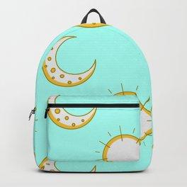 Moonlight Stars Print Starry Night Birthday Gift Backpack