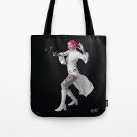 Princess Leia Strikes Back Tote Bag