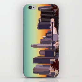 Downtown Los Angeles iPhone Skin