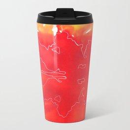 Abstract dawn Travel Mug