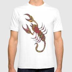 Tatoo Scorpion Mens Fitted Tee White MEDIUM