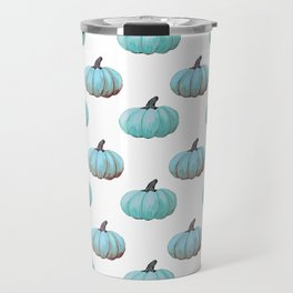 Teal pumpkins, Thanksgiving, alternative, fall Travel Mug