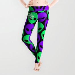 Alien Print Leggings
