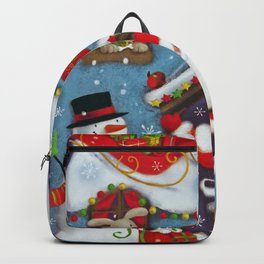 Santa's House Backpack
