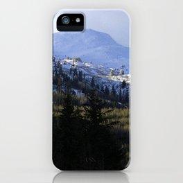 Snow Top iPhone Case