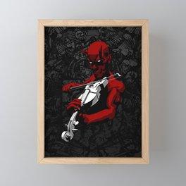 Devil's Trill Framed Mini Art Print