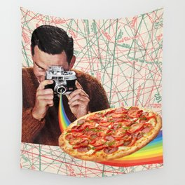 pizza obsession Wall Tapestry